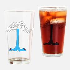 Monster Letter I Drinking Glass