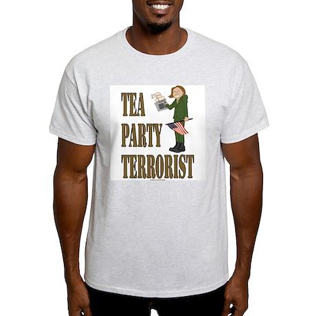 Tea Party Terrorist Light T-Shirt