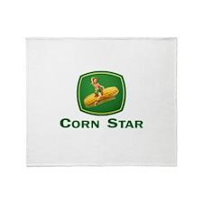 Cute Corn Throw Blanket