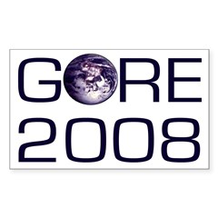For Earth, Gore 2008 Bumper Decal