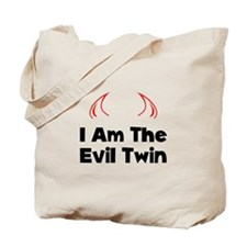 I Am The Evil Twin Tote Bag