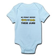 No Permit Needed Infant Bodysuit