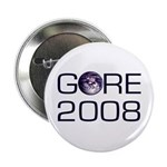For the Earth Al Gore 2008 Button