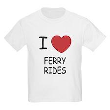 I heart ferry rides T-Shirt