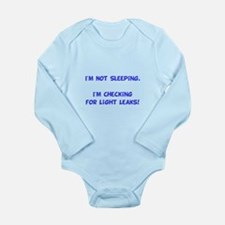 Light Leaks Long Sleeve Infant Bodysuit