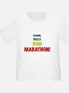 Crawl Walk Run Marathon T