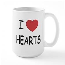 I heart hearts Mug