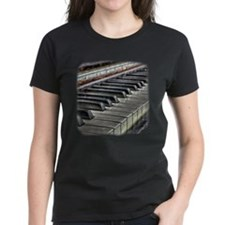 Distressed Vintage Piano Tee
