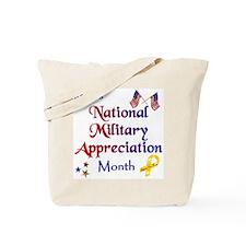 Thankyou Veterans Tote Bag
