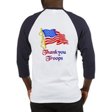 Thankyou Troops Baseball Jersey