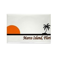 Funny Marco island florida Rectangle Magnet (10 pack)