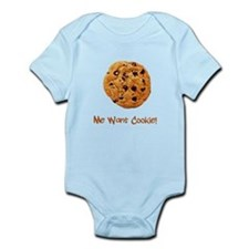 Me Want Cookie Infant Bodysuit