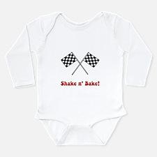 Shake n' Bake Long Sleeve Infant Bodysuit
