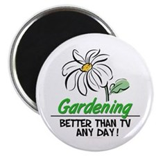 "Gardening 2.25"" Magnet (100 pack)"