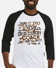 Cross Country Coach (Funny) Gift Baseball Jersey