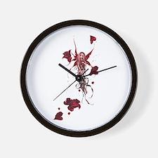 Unique Trick fairies Wall Clock