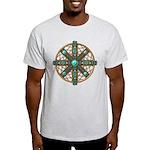 Native American Beadwork Mandala Light T-Shirt