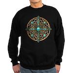 Native American Beadwork Mandala Sweatshirt (dark)