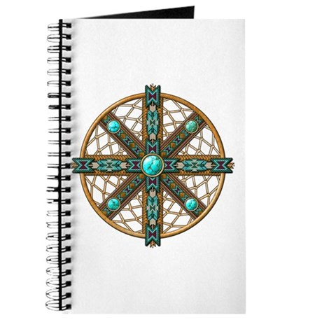 Native American Beadwork Mandala Journal