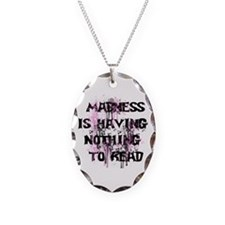 Reading Madness Gifts Necklace