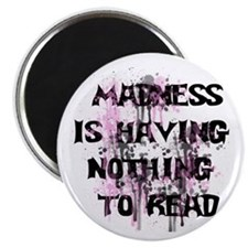 Reading Madness Gifts Magnet