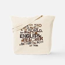 English Teacher (Funny) Gift Tote Bag