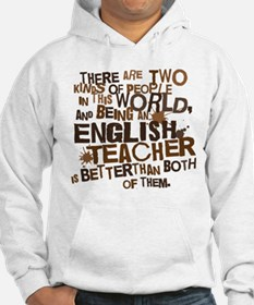 Gift for English Teacher Hoodie Sweatshirt
