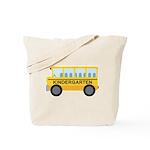 Kindergarten School Bus Tote Bag