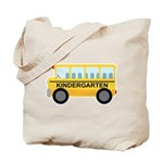 Kindergarten School Bus Tote Bag