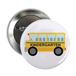 "Kindergarten School Bus 2.25"" Button (10 pack)"