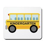 Kindergarten School Bus Mousepad