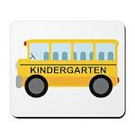 Kindergarten School Bus Mousepad