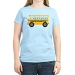 Kindergarten School Bus Women's Light T-Shirt