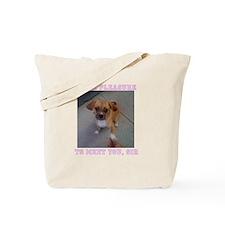 Unique Adorable puggles Tote Bag