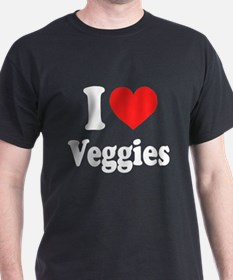 I Love Veggies: T-Shirt