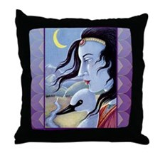 Saraswati-Goddess of Wisdom Throw Pillow