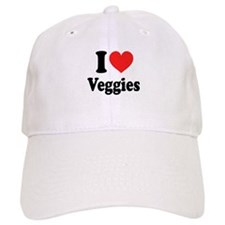 I Love Veggies: Baseball Cap