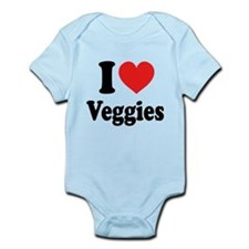 I Love Veggies: Infant Bodysuit