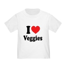 I Love Veggies: T
