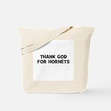 Thank God For Hornets Tote Bag