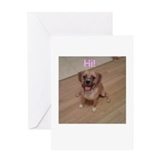 Cute Cute puppies Greeting Card