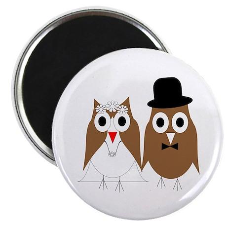 Wedding Owls Magnet