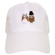 Wedding Owls Baseball Cap
