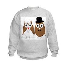 Wedding Owls Sweatshirt