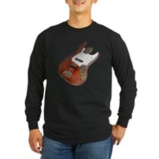 Red Relic Bass Guitar T
