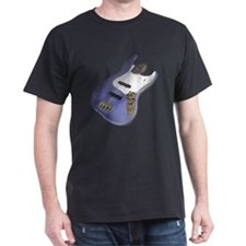 Purple Relic Bass Guitar T-Shirt
