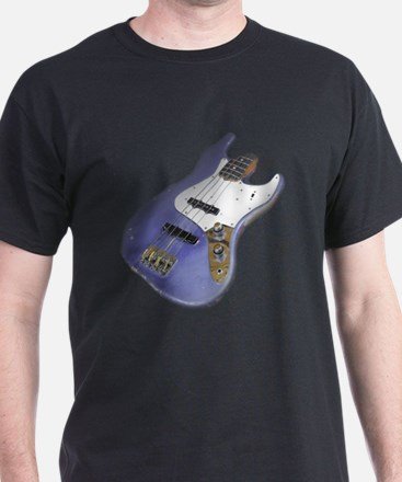 Purple Relic Bass Guitar T-Shirt