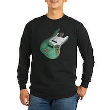 Green Relic Bass Guitar T