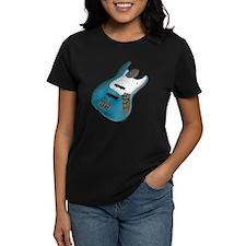 Blue Relic Bass Guitar Tee