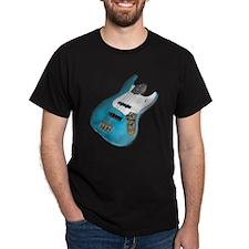 Blue Relic Bass Guitar T-Shirt